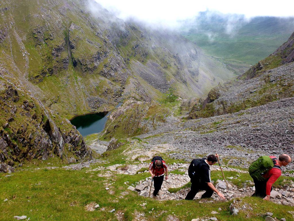 Guided Ascents O Shea's Gully KerryClimbing